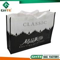 Factory wholesale folding recyclable pp non woven tote bag