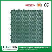 Outdoor futsal court football floor,pp interlocking sports futsal flooring