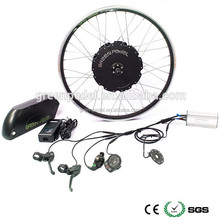 48V 500W 750W 1000W e bicycle brushless hub motor 13Ah Lithium battery mountain electric bike conversion kit