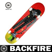 Backfire different size pro complete skateboard canadian maple leading manufacture