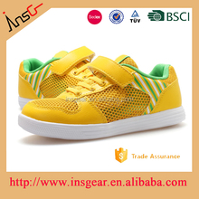 hot sale yellow trainers and kids basketball and baby walking shoes