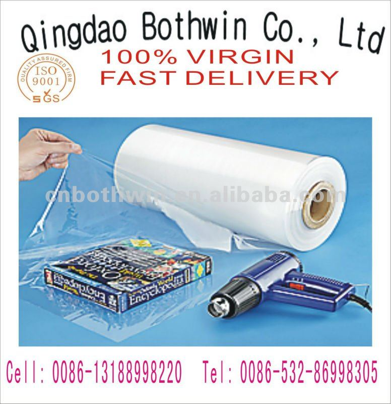 no of joint seam pvc cling film for food wrap