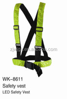 hanging waist reflective belt safety belt with reflective tape