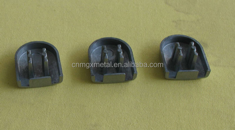 die casting end cap for office furniture