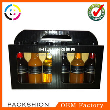 Dongguan 6 bottle cardboard wine box