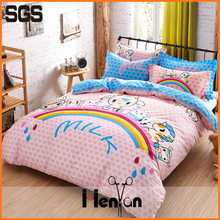 custom printed bedsheet brand bed cover