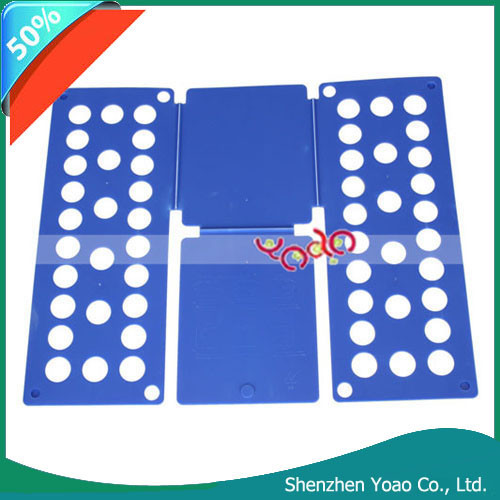 Factory Wholesale Children Clothes Shirts Folding Board, Flip Fold Clothes Folder