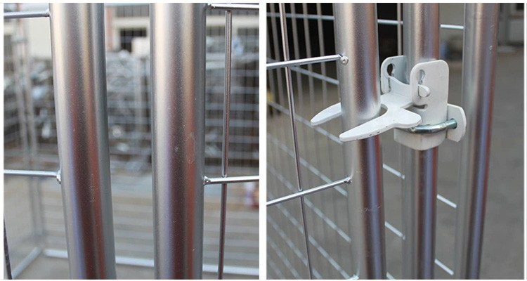 huilong factory best quality anping huilong wire mesh practical used dog kennels pet cage dog house