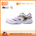2015 Wholesale indoor sports badminton shoes cricket shoes in very competitive price from amason company