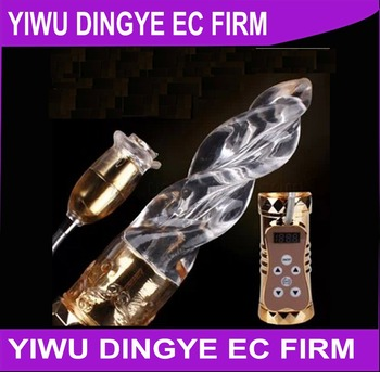 Hot Selling 16 Speed Vibration and 15 Frenquency Dildo Rabbit Vibrator