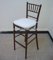 Wholesale Wooden High Chiavari Bar Stool Chair