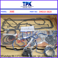 SK200-8 SK250-8 ENGINE J05E FULL OVERHAUL COMPLETE GASKET KIT SET 11115-E0120
