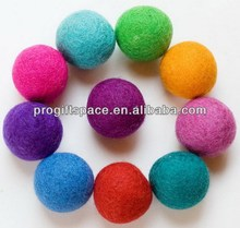 hot new products for 2016 alibaba china best selling christmas ornament 100% wool felt ball carpet rug