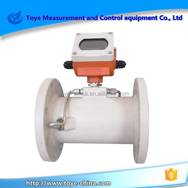 ultrasonic flow meter apply to pipe flow measurement