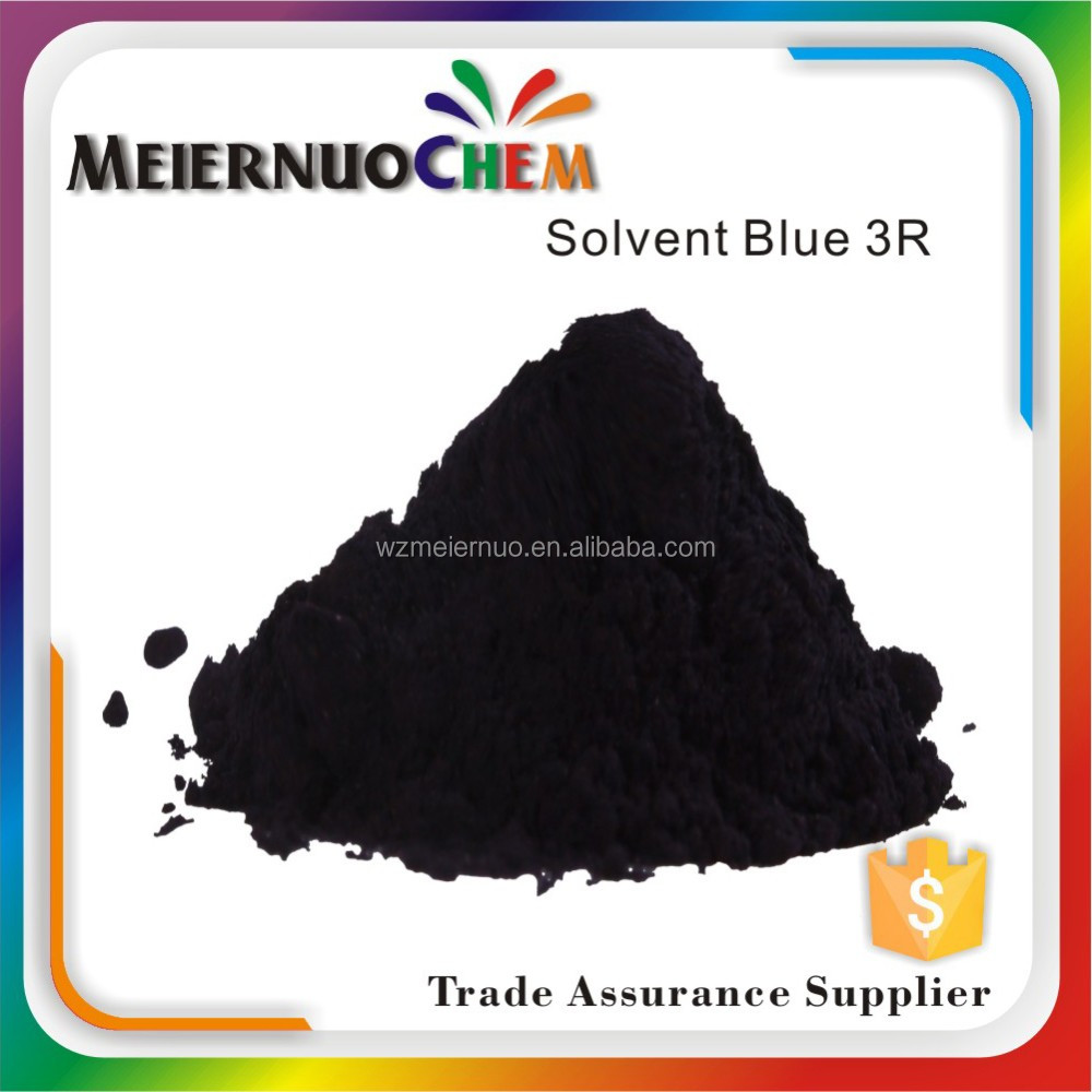 sgs certificate solvent blue 3R-1 dyes for paint