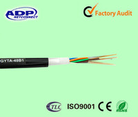 High Quality Stranded Loose Tube Armored Cable GYTA fiber optic cable