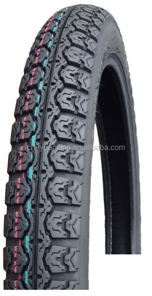 Motorcycle tire KINGSTONE tire YUANXING tire 2.50-17 4PR/6PR P22 street pattern off road pattern