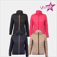 Ladys Winter Padded Jacket Wholesale Customized Qulited Jacket