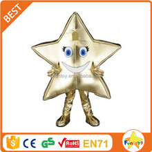 Funtoys CE used adult plush Star shape mascot costume for sale