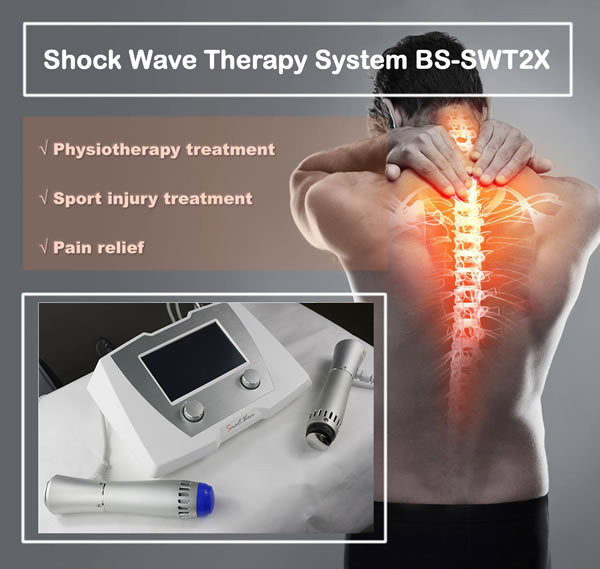 Body oain reduction shockwave Athletes foot shock wave therapy medical ultrasound shock wave