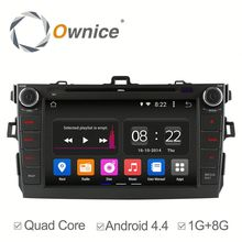 Ownice c180 Car stereo car video player ipod For Toyota Corolla with GPS IPOD TV Function video AUX