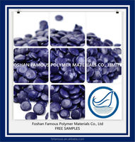 LDPE additive blue color masterbatch for plastic bags