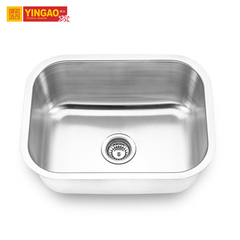 OEM New Design Kitchen Sink Big Bowl 304 Stainless Steel Laundry Sink