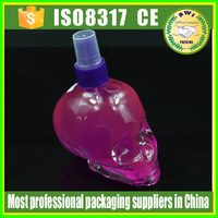 special glass bottle 50ml skull shaped dropper bottle for e liquid with child safety cap and pipette with rubber bulb