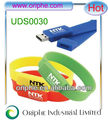Promotional gifts Wristband usb flash drive no housing