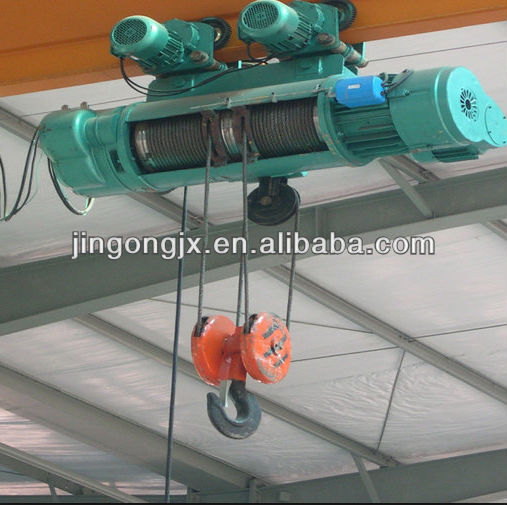 pulleys CD1 type electric hoist wire rope electric hoist