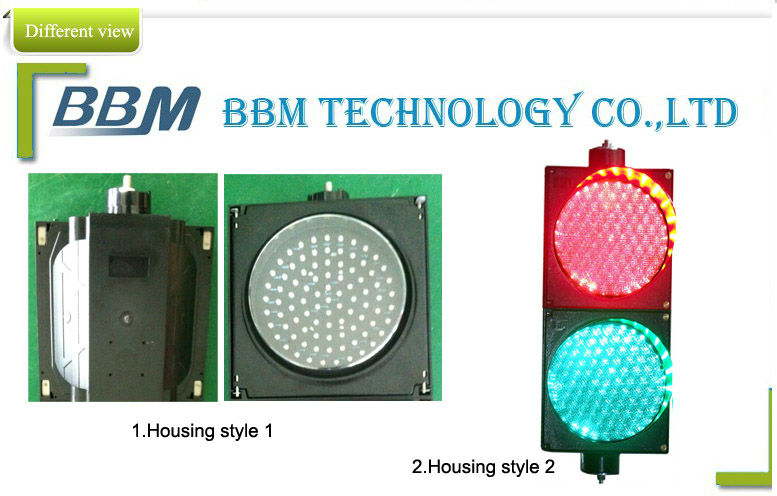 300mm red green semaforo led with double lens on sale