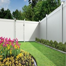White PVC Fencing, Vinyl Fence Boards
