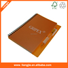 Spiral notebook with custom printing, coil notebooks, promotional notebook