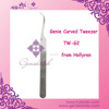 High Class Stainless Steel Genie Curved Tweezer for Eyelash Extension