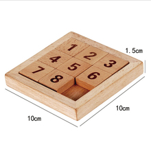 Eco-Friendly Wooden Sudoku Game Wooden Kids Educational & Challenging Game