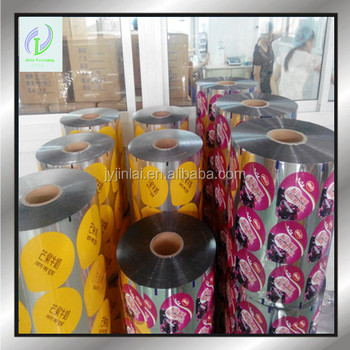 high quality yogurt seal film/juice seal film/beverage seal film