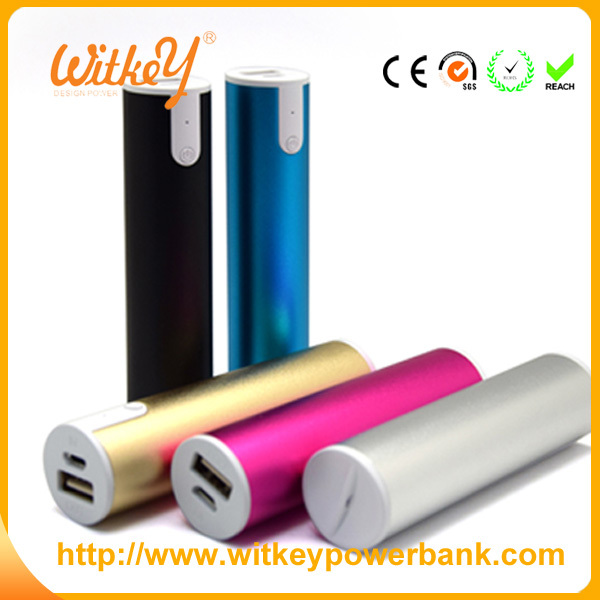 SA 8000 TCCC SEDEX smart power bank 2600mah with led torch light