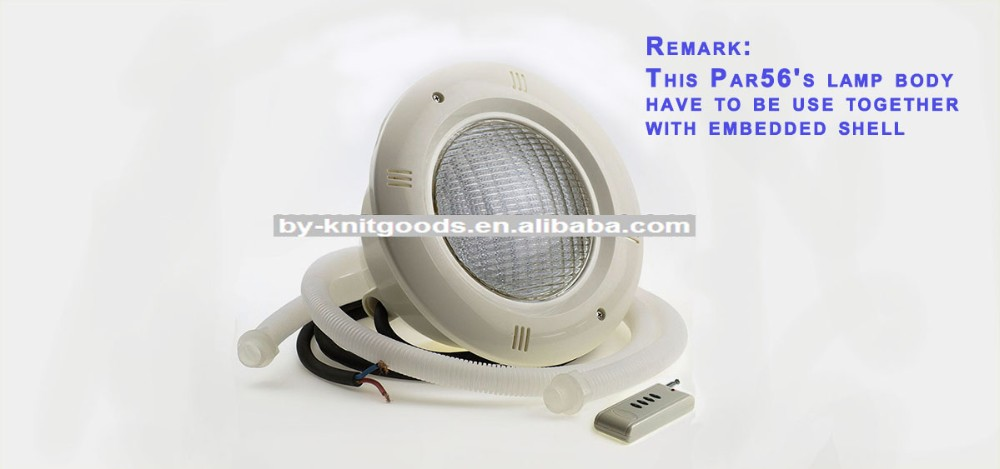 yiwu CORNER RGBPL25W remote RGB submersible led light for swimming pool 12v par56 multi color led swimming pool light