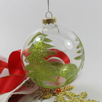 new 100 wholesale clear glass christmas ball ornaments