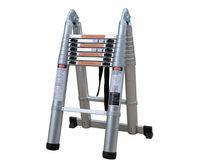 5m full aluminum multifunction telescopic ladder