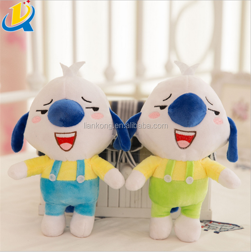 Popular new design custom eco-friendly pp cotton stuffed plush toy animals