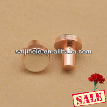 High Quality Silver Cadmium Oxide Electrical Contact Rivet