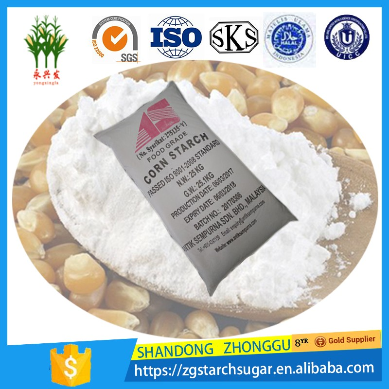 Native Corn Maize Starch for food noodle