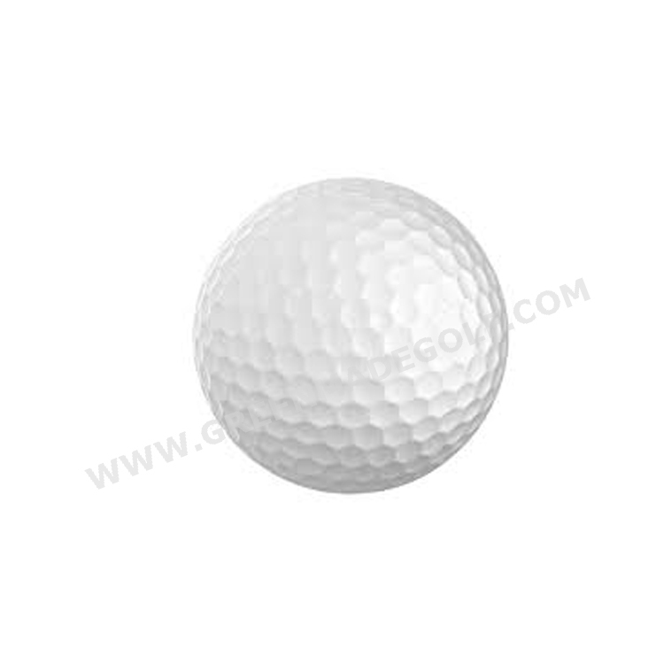 Plain white color bulk wholesale golf balls