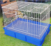 Stocked metal iron pet cage, small animals cages cage