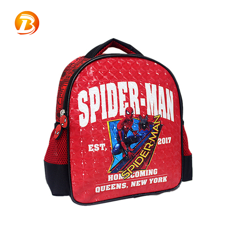 China supplier new design child 600D polyester backpack school bag kids