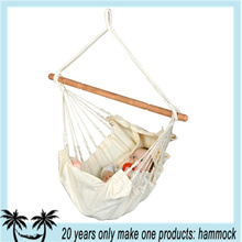 Indoor cotton fabric baby hammock swing