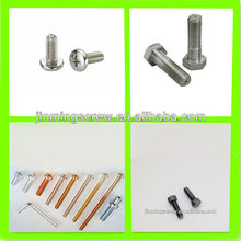 hex socket pan head machine screw