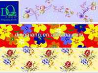 two or one side brushed microfiber printed polyester bedsheet fabric factory for bedding
