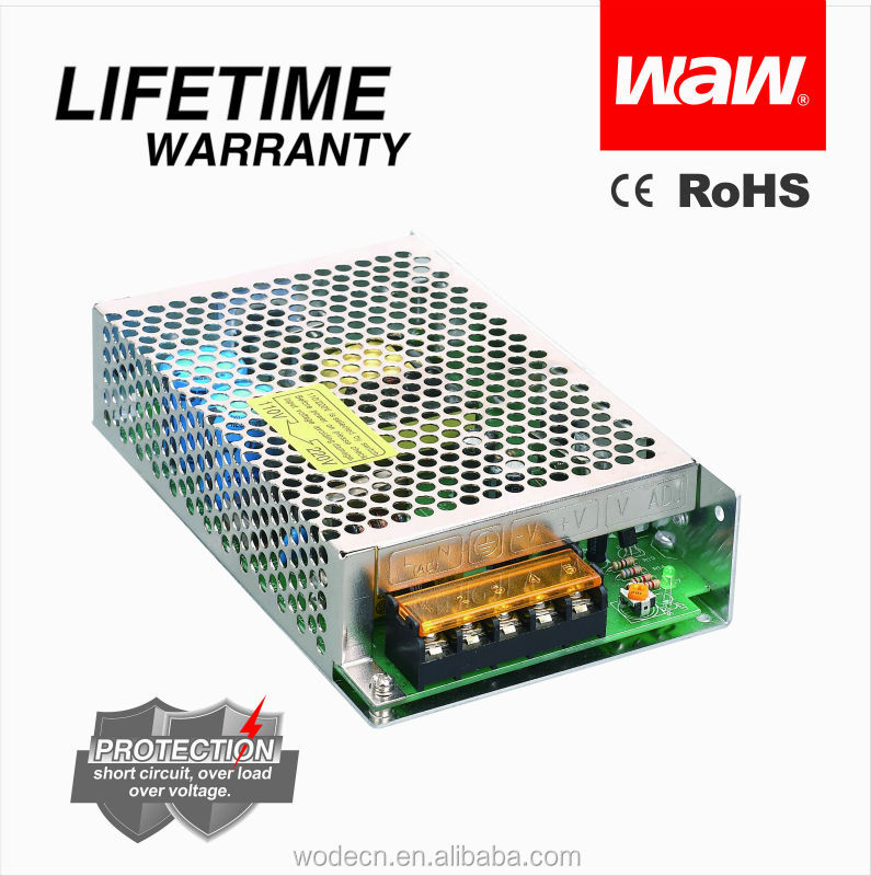 LED driver 2.1a 24v 50w S-50 switching power supply with CE ROHS